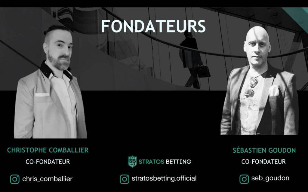 Avis Stratos Betting - Fondateurs