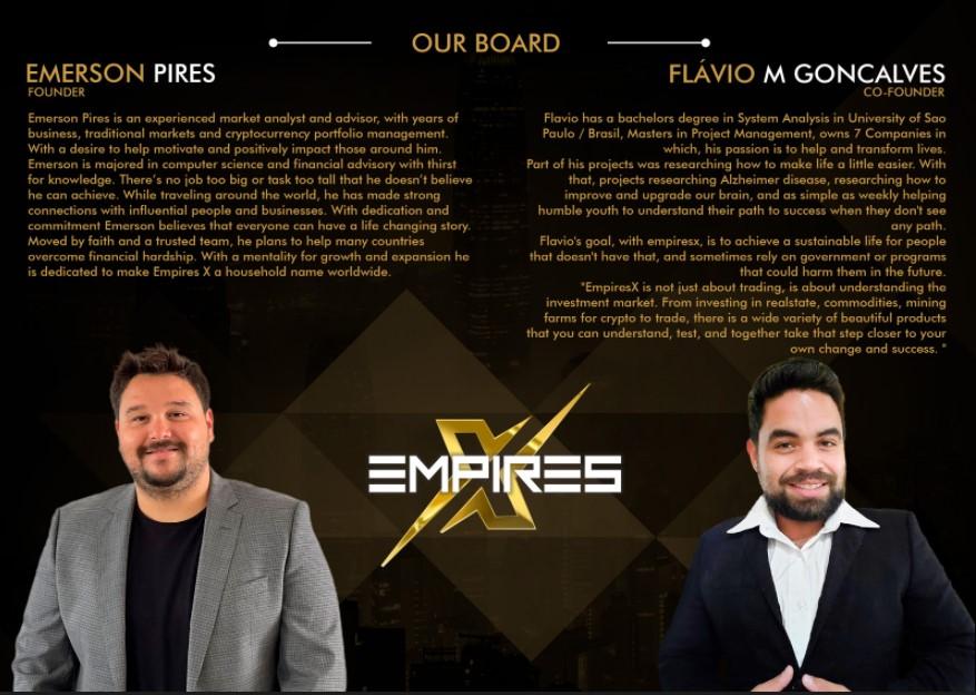 Avis EmpiresX fondateurs